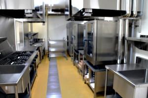 画像:テラスいちょう厨房