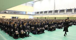 高校入学式2015