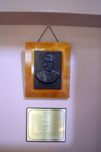 画像:中村道三郎先生(銅像)