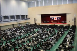 画像:高校入学式